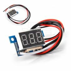 Panelové měřidlo - ampérmetr 0~10A
