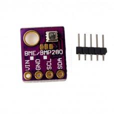 BME280, Teplotní, vlhkostní a tlakový senzor, I2C