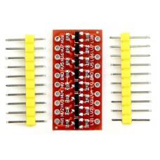 Obousměrný konvertor úrovní 5V / 3V , 8 kanálů
