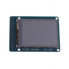 "Dotykový barevný displej 2.4"", 240x320px, SD slot, 40PIN, ILI9341, 8/16bit"