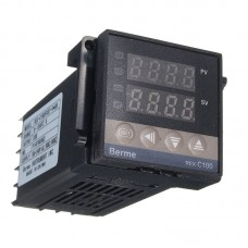 Digitální termostat REX-C100, 230V AC, model: REX-C100FK02-V*AN DN, BERME
