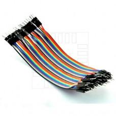 Propojovací kabel 40 x 10cm, samec / samec