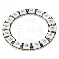 16x inteligentní RGB LED NeoPixel, WS2812B, kruh, 5050, 5V