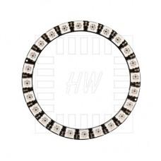 24x inteligentní RGB LED NeoPixel, WS2812B, kruh, 5050, 5V