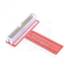 Adaptér GPIO, 40 pinů,  Raspberry  Pi 2, Pi 3, B+