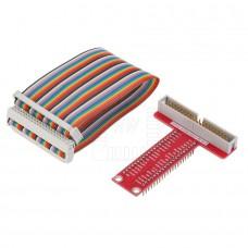 Adaptér GPIO s kabelem, 40 pinů,  Raspberry  Pi 2, Pi 3, B+