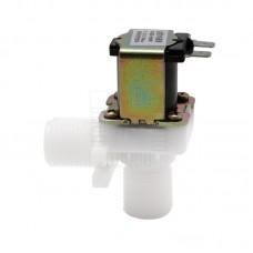"Solenoid, elektromagnetický ventil, 1/2"", 230V AC, 90°, plast, NC"