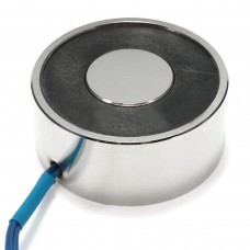 Kruhový elektromagnet, Solenoid, 12V DC, 5W, P49-21, 40kg