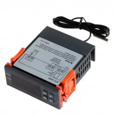 Digitální termostat STC-2000, -55°C ~ +120°C, LED, ALARM, 1 výstup, senzor 1m, 230V
