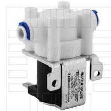 """Solenoid, elektromagnetický ventil, 1/4"""", 12V DC, přímý, plast, NC"""
