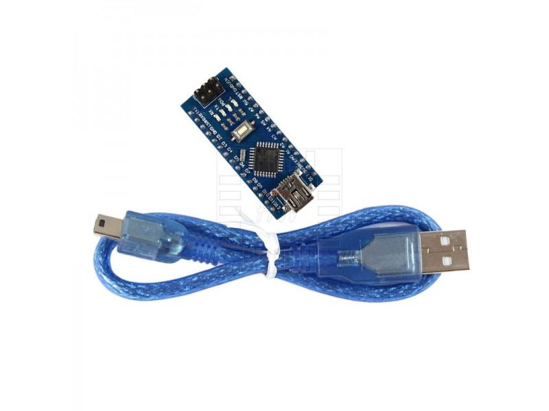 Arduino nano atmega p mhz v usb kabel