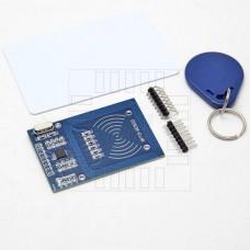 Čtečka RFID 13.56MHz, klíčenka, karta, RC522