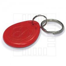 RFID červená klíčenka 125kHz, tag