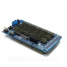 Rozšiřující shield pro Arduino MEGA2560, V2