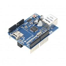 Ethernet Shield W5100, slot SD