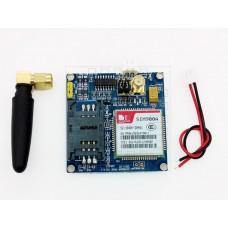 SIM900A, GSM modul s externí anténou