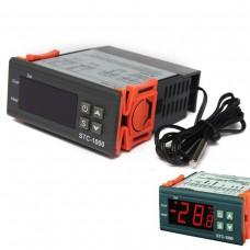 Digitální termostat STC-1000, -50°C ~ +99°C, LED, 2 výstupy, senzor 1m, 230V