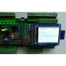 ARMOSY-2, Ovládání vstupů a výstupů, příklad