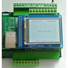 ARMOSY-2, Zobrazení času na LCD, příklad