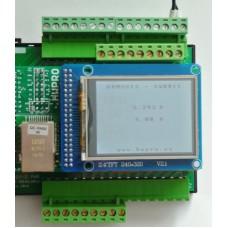 ARMOSY-2, Měření systémových napětí se zobrazením na LCD, příklad