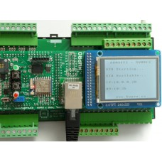ARMOSY-2, Ethernetové připojení, IP, RTC, Web Server, příklad