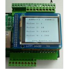 ARMOSY-2, Zápis a čtení do paměti EEPROM, příklad