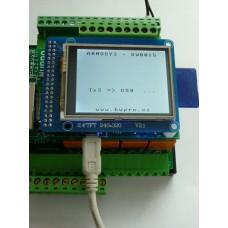 ARMOSY-2, Vysílání dat na USB (TX3), příklad