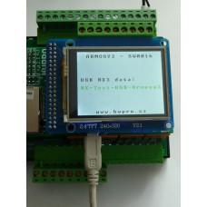 ARMOSY-2, Příjem dat z USB (RX3), příklad