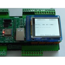 ARMOSY-2, Ovládání WiFi ESP8266 AT příkazy, příklad