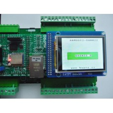 ARMOSY-2, Ovládání dotykového displeje, UTFT, TOUCH, příklad
