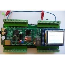 ARMOSY-2, Blikání LED na výstupu OUT1, příklad