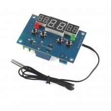 Chladící termostat -9°C ~ +99°C, LED, senzor 0.5m, 12V