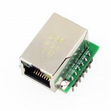 Ethernet W5500 (USR-ES1), SPI, 80MHz