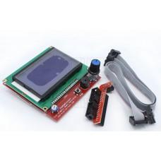 Grafický LCD s SD slotem pro ovládání 3D tiskáren, 128x64