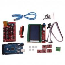Sada pro 3D tisk, Arduino MEGA2560, řadič RAMPS 1.4, 5x driver A4988, grafický LCD, kabely