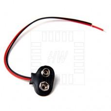 Konektor na destičkovou 9V baterii