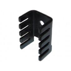 Hliníkový eloxovaný chladič, TO220, 13x19x13mm
