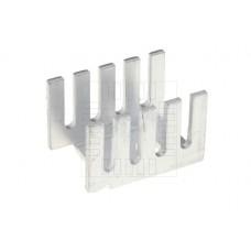 Hliníkový chladič, TO220, 13x19x9mm