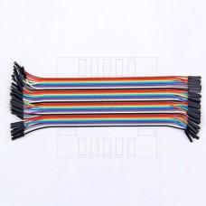 Propojovací kabel 40 x 20cm, samec / samice