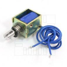 Solenoid, elektromagnet, 12V DC, HCNE1-0520, 0.2kg