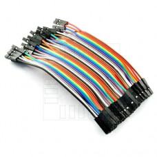 Propojovací kabel 40 x 10cm, samice / samice
