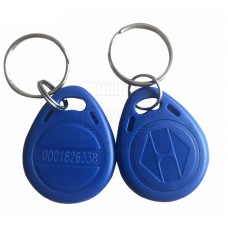 RFID modrá klíčenka 125kHz, tag, 27mm