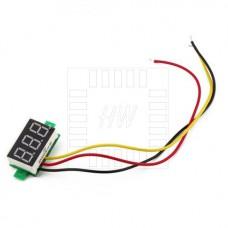 Panelové měřidlo - DC voltmetr 0 ~ 100V