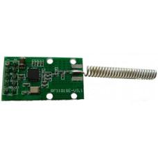 RF CC1101SE - bezdrátový modul 433MHz s integrovanou anténou, V.3.1, SPI