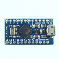 Arduino Leonardo Pro Micro, ATmega32U4, 16MHz, 5V
