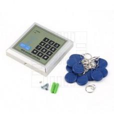 Domovní přístupový systém, RFID, kódový zámek, zvonek, 10 tag, 125kHz