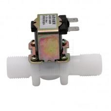 """Solenoid, elektromagnetický ventil, 1/2"""", 230V AC, přímý, plast, NC"""