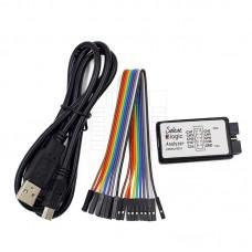 Logický analyzátor, 8 kanálů, 24MHz, USB