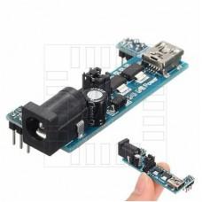 Napájecí modul do zkušební desky nepájivého pole MB102, mini USB