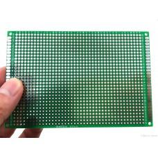 Zkušební oboustranná deska, 80x120mm, 1260 otvorů